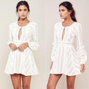 For love & lemons Alessandra Pom Pom dress